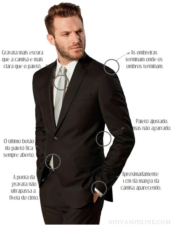 c8a1f80a0f Como usar terno em um casamento