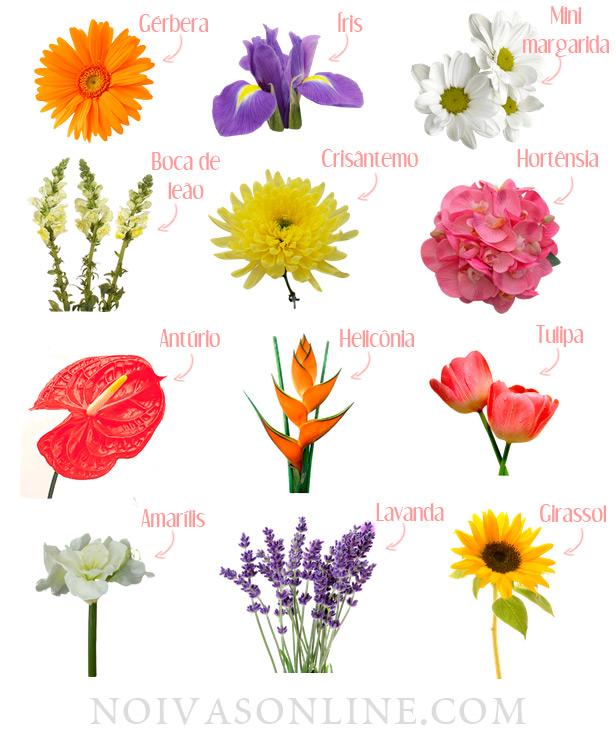 Flores Para Decoração De Casamentos