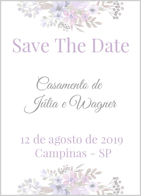 Imprimir Save The Date