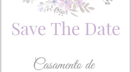 Save The date editável